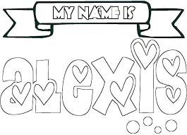 create your own coloring page name coloring pages create your own name coloring pages of