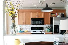 Update Oak Kitchen Cabinets Interesting Design Inspiration