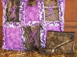 pink mossy oak camo quilt patterns   Real Tree Purple Browning Rag ... & pink mossy oak camo quilt patterns   Real Tree Purple Browning Rag Quilt  Handbag Purse Tote Adamdwight.com