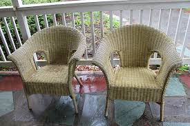 painted wicker furniturePainting Wicker Furniture with Chalk Paint  ThirtySomething