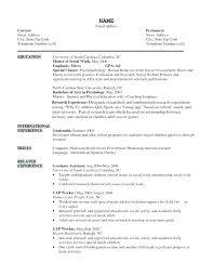 Social Work Resume Sample Mesmerizing Resumes For Social Workers Sample Social Work Resume Examples Resume