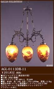 terukuni rakuten global market madder writing is rocky agl 0113db 11 and collection galle collection is rocky collection rose rose 3 light chandelier