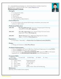 Resume Formats Pdf Elegant Resume Format For Freshers Free Download