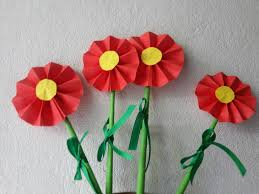 How To Make A Beautiful Flower With Paper How To Make Easy Paper Flowers For Decoration Skill Flair Easy Craft