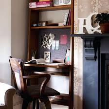 Home Office Ideas For Small Rooms Alcove With Fold Down Desk  Guest Room