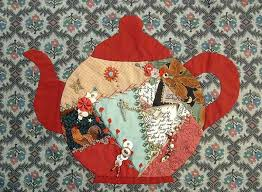 Teapot - Free Crazy Quilt Pattern | ... , Crazy Quilting , Free ... & Teapot - Free Crazy Quilt Pattern | ... , Crazy Quilting , Free Crazy Adamdwight.com