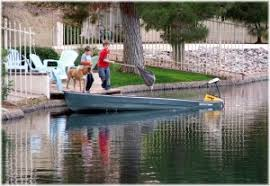 pecos ranch boating in waterfront munity in chandler