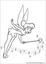 Small Picture Tinkerbell Coloring Pages For Kids