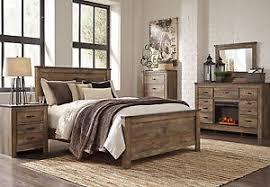 rustic bedroom furniture sets. WOODLAND 5 Pieces Modern Rustic Brown Bedroom Set NEW Furniture - King Panel Bed Sets A