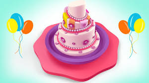 Cake For Kids Birthday Cake Formation 3d Animation Cartoon Video