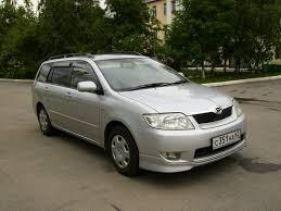 2004 Toyota Corolla Fielder Photos, 1.5, Gasoline, FF, Automatic ...