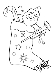 Small Picture Christmas Stockings Coloring Pages Wallpapers9