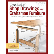 craftsman furniture. Great Book Of Shop Drawings For Craftsman Furniture, Revised \u0026 Expanded Second Edition (HC Furniture