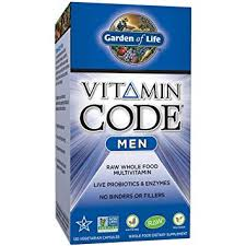 garden of life multivitamin for men vitamin code men s raw whole food vitamin supplement with