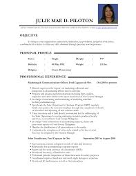 Sample Resume Format For Experienced Teachers Fresh Bunch Ideas