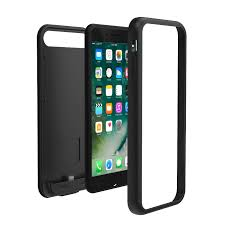 iphone 7 plus matte black with clear case. tamo battery case for iphone 7 plus stylish, durable, rose gold color iphone matte black with clear