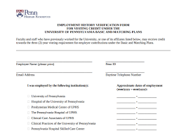 employment history verification form 9 employment history verification forms templates pdf doc