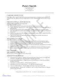 Sample Resume Sle Resume Senior Loan Officer Resumes SlideShare