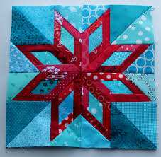 I don't like to paper piece, but I am in love with this block.---C ... & pape pieced Maine star from 50 Fabulous Paper Pieced Stars Adamdwight.com