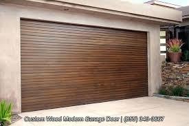 modern wood garage doors custom signed morn wood garage doors with horizontal staggered wood slat modern modern wood garage doors