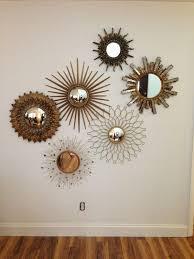 amazing decoration mirror wall art home decor ideas pertaining to mirrored wall art modern
