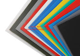 colored outdoor corrugated plastic sheets for exhibition information panel warning sign