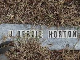 HORTON, J DEBBIE - Searcy County, Arkansas | J DEBBIE HORTON - Arkansas  Gravestone Photos
