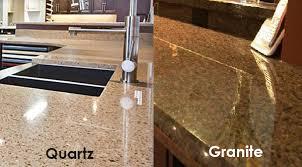 quartz vs granite solid surface countertops kitchen
