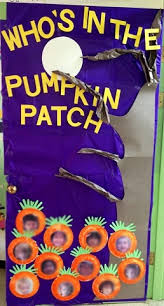 classroom door decorations for halloween. Pumpkin-patch-classroom-door-decoration Classroom Door Decorations For Halloween