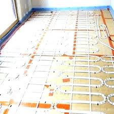 Heated Bathroom Floor Cost Unique Electric Floor Heating Radiant Floor Heating Cost Electric Under