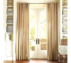 curtains sliding glass door hanging above blackout doors thermal ds