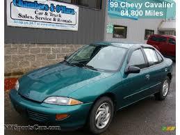 1999 Chevrolet Cavalier Sedan in Green Metallic - 202720 ...