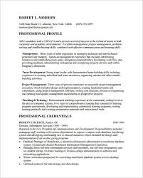 Sample Mba Resume | Jennywashere.com