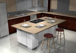 No friend or family member dares to give grief to the home-Teppanyaki cook  in this kitchen; they'll be completely out-knifed  so they'd better  pipe-down!