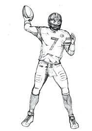 Football Coloring Pages Odell Beckham Jr Color By Numbers Page Print