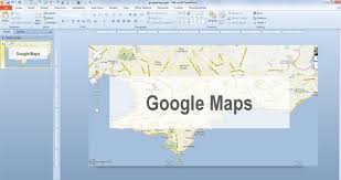 How To Add Google Maps To Powerpoint Embed Google Map