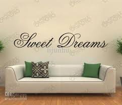 see larger image on wall art words with sweet dreams removable vinyl wall art words lettering stickers diy