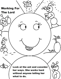 Small Picture Sunday School Coloring Pages For Preschoolers Children Within