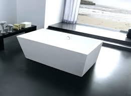 stand alone bath tub