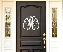 front door monogramMonogram Letters Front Door Decoration