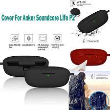 Vỏ Bảo Vệ Hộp Đựng Tai Nghe Silicon Chống Rơi Cho Anker Soundcore Life-p2