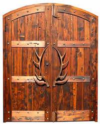 Tahoe Custom Timber Doors   Red Horse Custom Pivot Doors