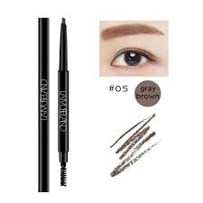 lamuseland 5 colors long lasting double headed autorotation eyebrow pencil