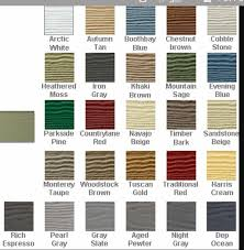 Hardie Board Color Chart Monterey Taupe Woodstock Brown Run