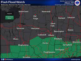 Flash flood watch in effect for Hudson ...