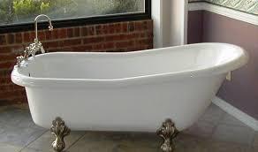 image of antique claw foot bath tub