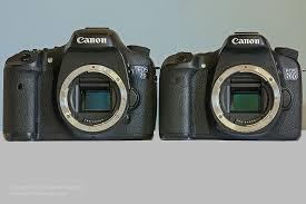 Canon EOS 70D and Canon EOS <b>7D</b>, Compared