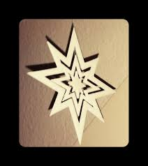 Weihnachtsstern Iii X Mas Star Ca 15cm Diameter By