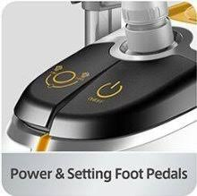 salav professional garment steamer. Unique Salav SALAV Professional Series Dual Bar Garment Steamer With Foot Pedals  GS45DJ Silver With Salav L
