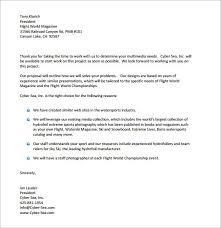 Business Proposal Letter Sample Pdf Useful Document Samples Business